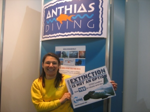 Anthias Diving, EUDI Dive Show #CITES4SHARKS
