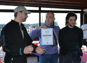 Claudio Tovani premia Alberto e Claudio di UDS