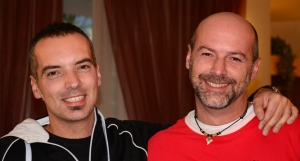 Matteo De Lorenzi e Marcello Periotto organizzatori del 17° GR