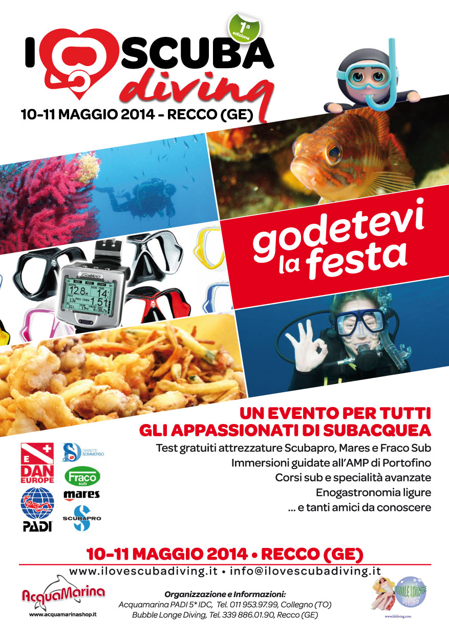 I LOVE SCUBA DIVING con Acquamarina e Bubble Lounge Diving!